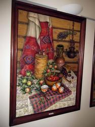 Деревенский натюрморт. 1996