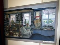 Эскизно-художественный проект Музея А.М.Горького в с. Красновидово. 1996