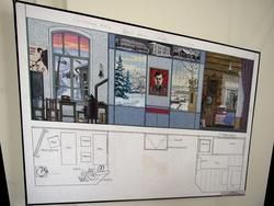 Эскизно-художественный проект Мемориального музея М. Джалиля в г.Мензелинске.  2006