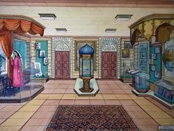 Эскизно-художественный проект Музея К. Насыри, в Казани, 2002