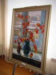 Зимнее окно. 1998 (авторская копия)