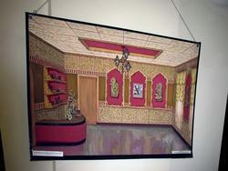 Эскизно-художественный проект реэкспозиции Музея Г.Тукая в Казани. 1996