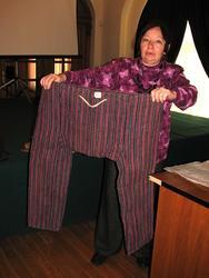 Тюркские штаны с широким шагом