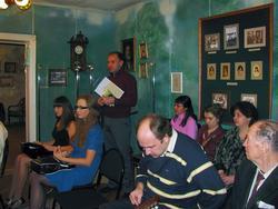 На литературно-музыкальном вечере, посвященном Веронике Тушновой