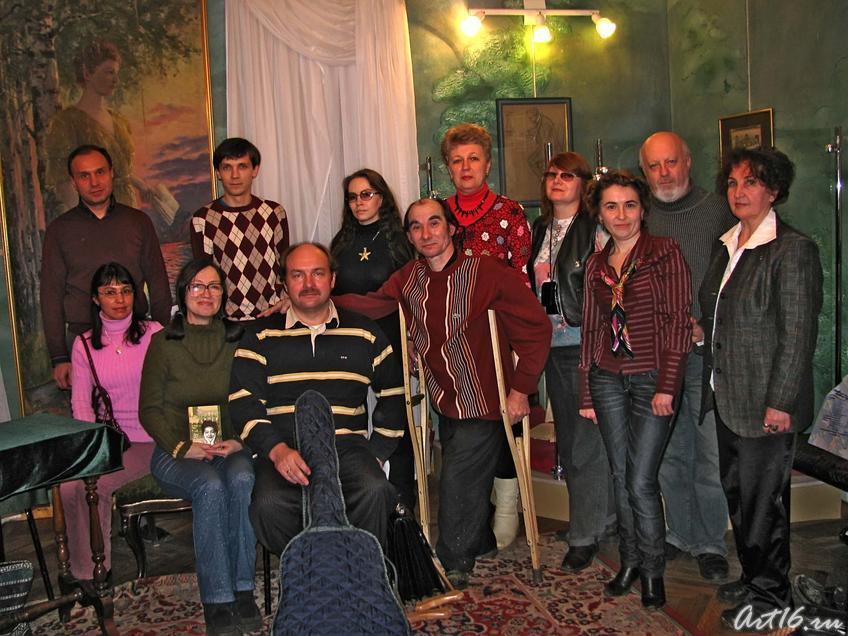 Фото №53117. Фото на память о вечере, посвященном 99-летию со дня рождения Вероники Тушновой