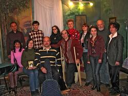Фото на память о вечере, посвященном 99-летию со дня рождения Вероники Тушновой