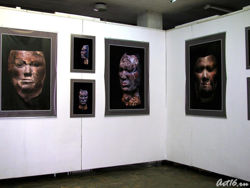 Фото №53259. Фрагмент экспозиции выставки ''Лики Хакасии''