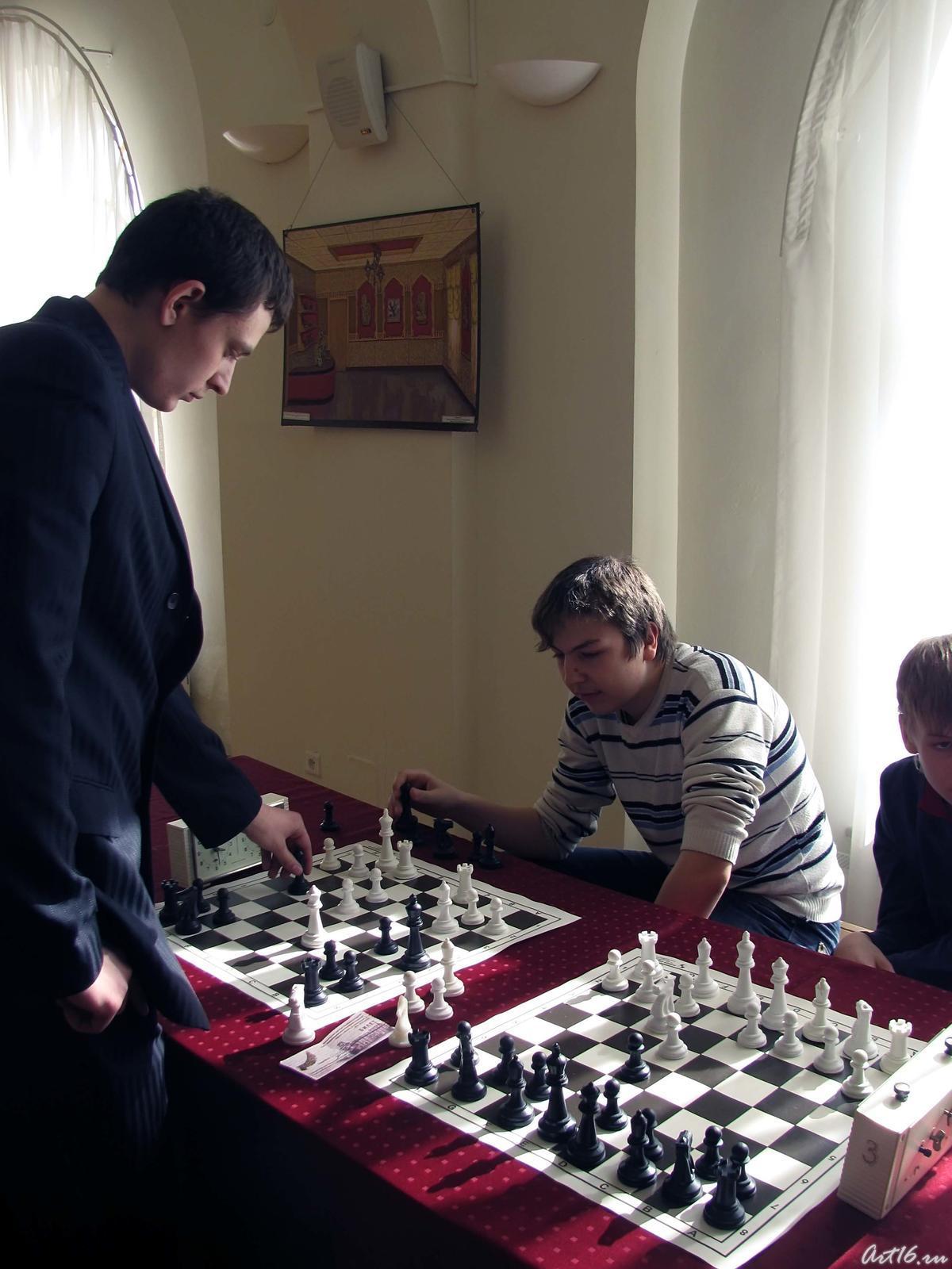 Фото №53518. Шахматный турнир