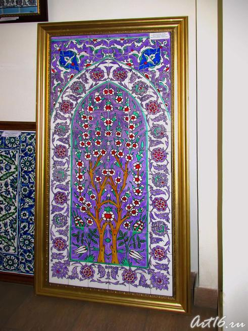 ʺПерсияʺ, орнамент. Роспись на керамической плитке:: Флера Даминова