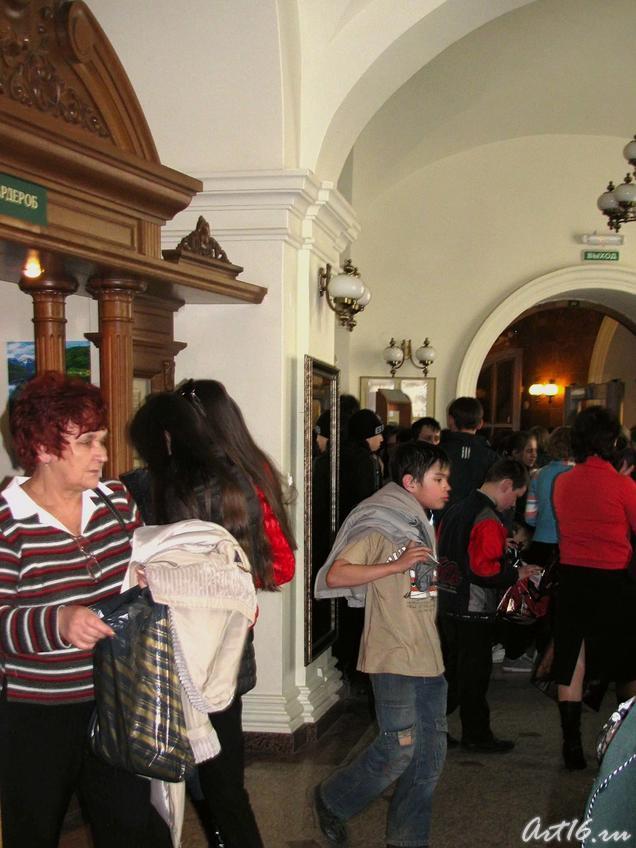 Гости музея в День открытых дверей::«Дни дарений» 01.04.10 — 05.04.10
