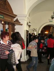 Гости музея в День открытых дверей