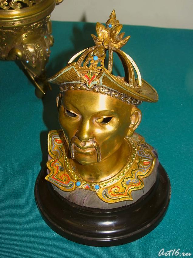 Чернильница в виде головы китайца::«Дни дарений» 01.04.10 — 05.04.10