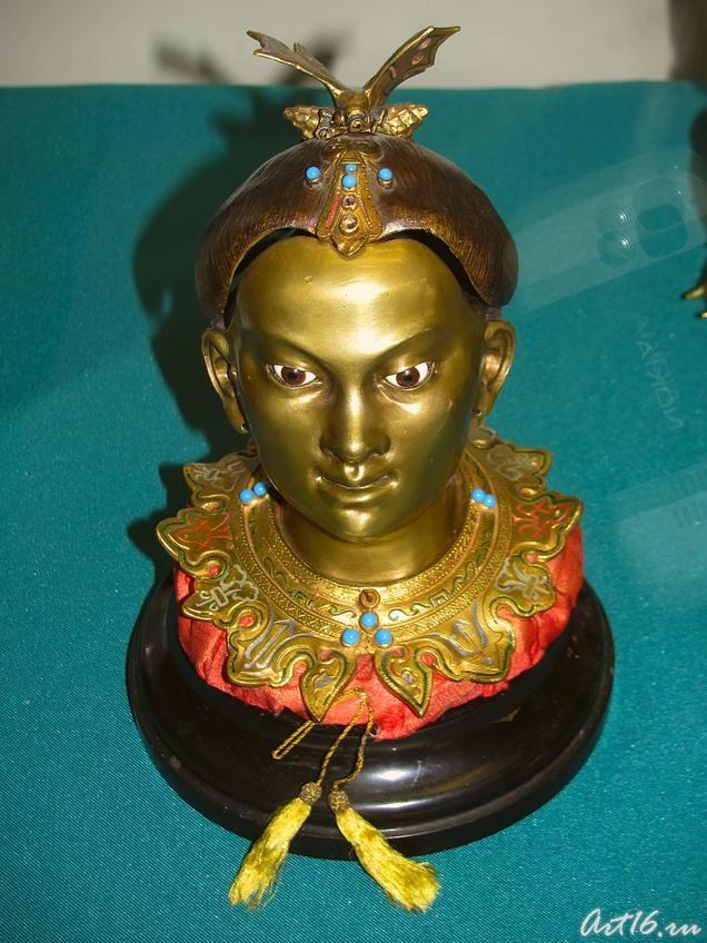 Чернильница в виде головы китаянки::«Дни дарений» 01.04.10 — 05.04.10