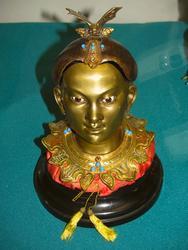 Чернильница в виде головы китаянки