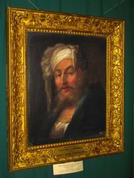 Неизвестный художник. Мужчина в белой чалме