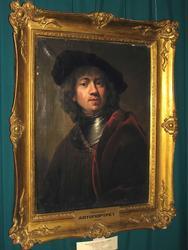 Неизвестный художник .Портрет Рембрандта