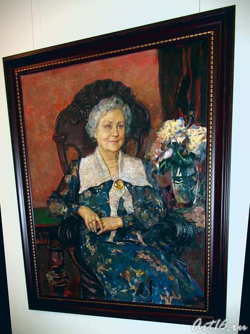 Портрет Рашиды Зиганшиной. 1997::Виктор Кронидович Федоров. 1940-2001