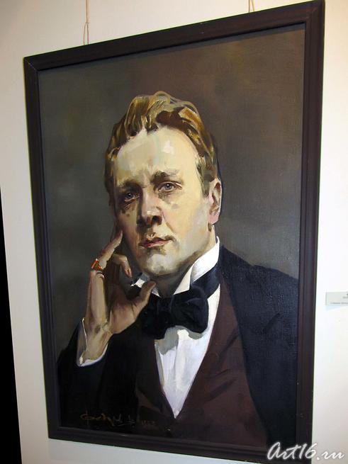 Портрет Ф. Шаляпина. 1993::Виктор Кронидович Федоров. 1940-2001