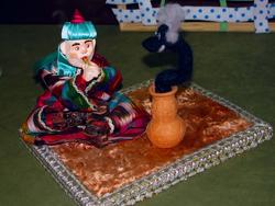 Факир со змеей. 2010