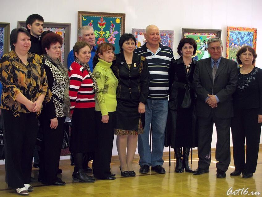 Фото №54610. Фото с Наилей Галявиевой, на память о выставке