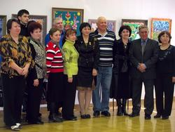Фото  с Наилей Галявиевой, на память о выставке