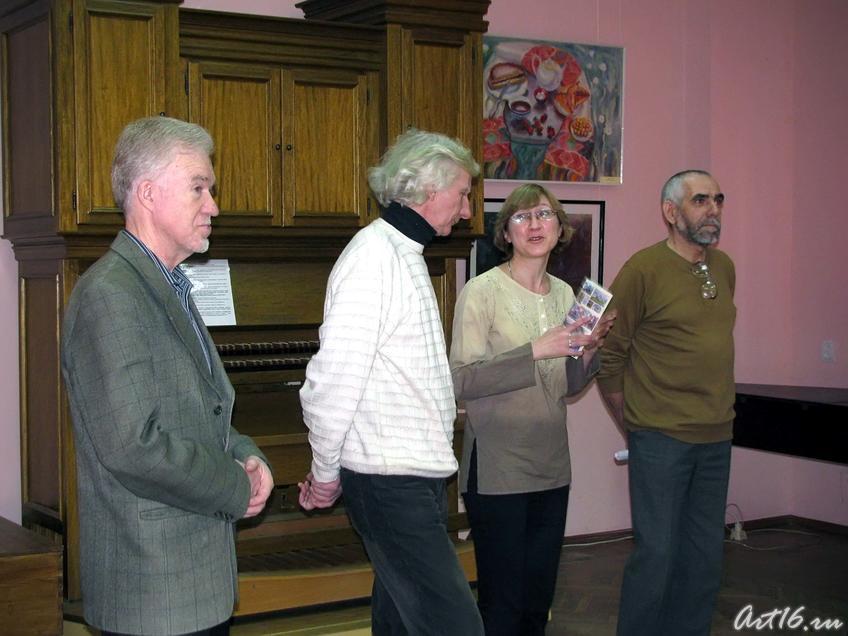 Фото №54621. На открытии выставки «Татарстан — наш общий дом»