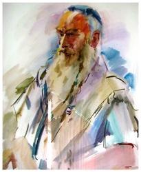 Портрет старика. 2008