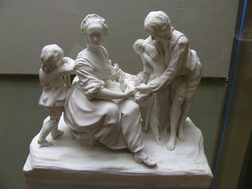 Группа ʺРодители у колыбели ребенкаʺ::Искусство Франции XVII –XVIII веков