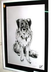 3. Сидящий пес
