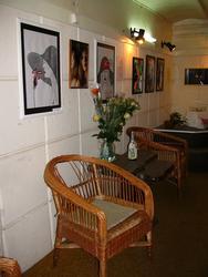 Фрагмент интерьера галереи «Эбиволь»