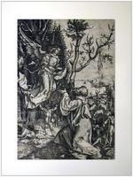 Явление ангела Иоакиму, (около 1506). Копия с гравюры Дюрера из серии