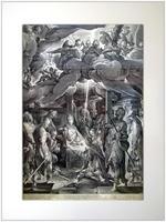 Поклонение пастухов. 1606 С картины Бартоломеуса Спрангера