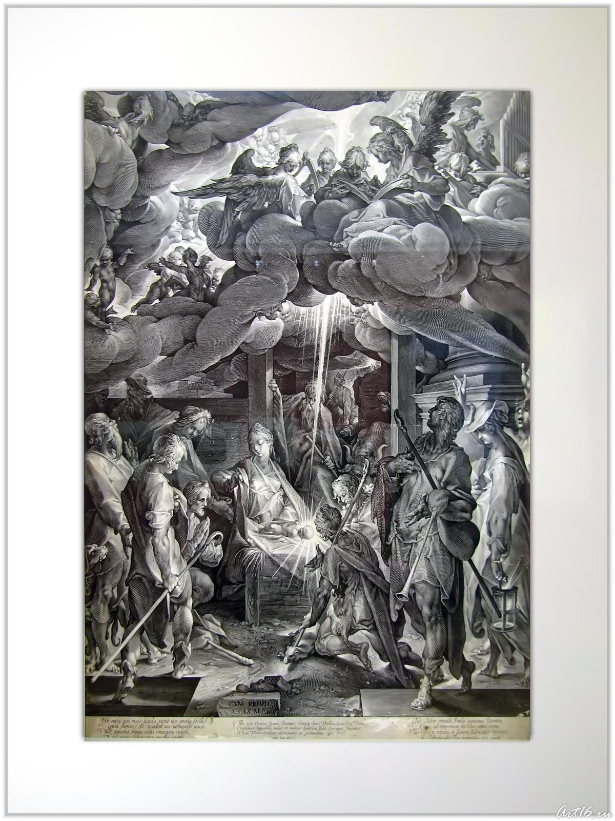 Фото №55724. Поклонение пастухов. 1606 С картины Бартоломеуса Спрангера