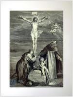 Распятие со Св.Домиником и Св.Екатериной Сиенской. 1653