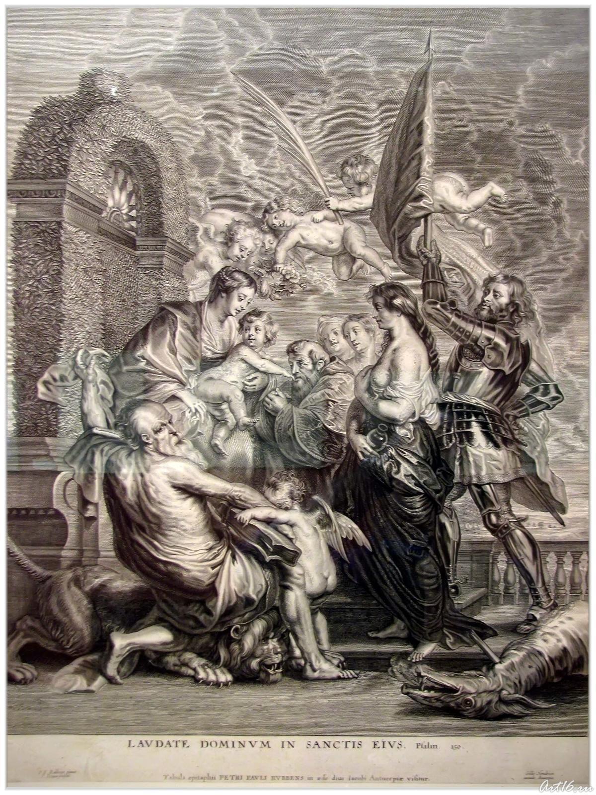 Фото №55754. Мадонна с младенцем и святыми (Св.Георгий), после 1635