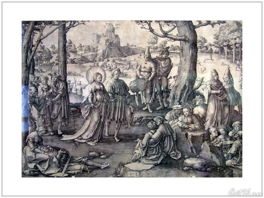 Фото №55778. Мирские радости Марии Магдалины (Танец Магдалины). 1519