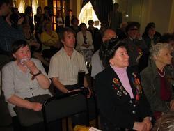 Пресс-еонференцич по-поводу открытия выставки