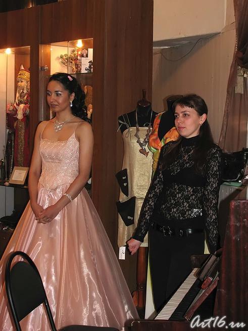 Ригина Валиева и Алсу Биктимерова