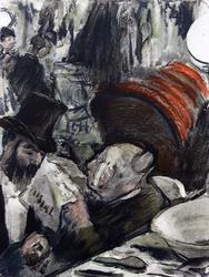 Эдгар Дега. Иллюстрации к роману Людовика Галеви ''Семья Кардиналь'' _03