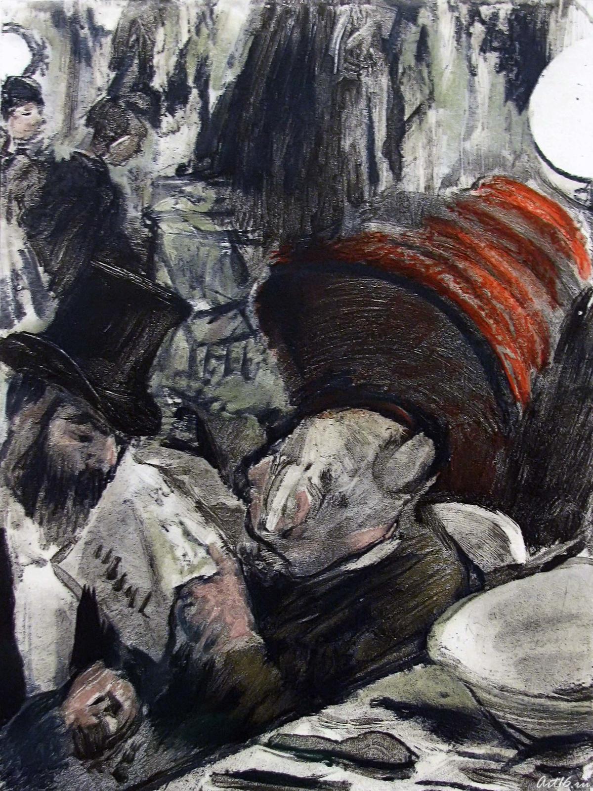 Фото №57855. Эдгар Дега. Иллюстрации к роману Людовика Галеви ''Семья Кардиналь'' _03