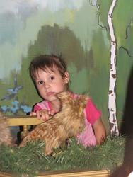 Девочка в сказочной стране ''Лукоморье''