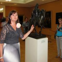 Валентина Братышева. Экскурсия для гостей праздника