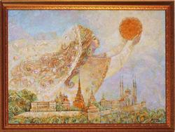 Рассвет над Казанью. Анастасия Бузунеева