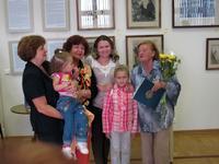 Ирина Колмогорцева в кругу семьи