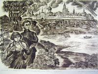 М.Цветаева и О. Мандельштам в Александрове. (лето.1916). 1993