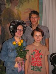 Наиля Ахунова и ученики