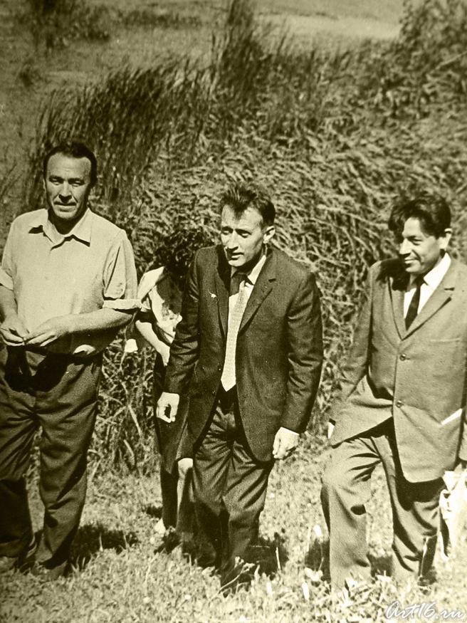 Писатели: Марсель Зарипов, Джанни Родари, Гариф Ахунов::Гариф Ахунов (1925-2000)