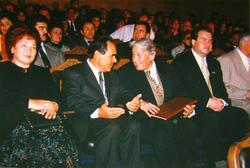 Беседа по душам: М.Шаймиев и Г.Ахунов
