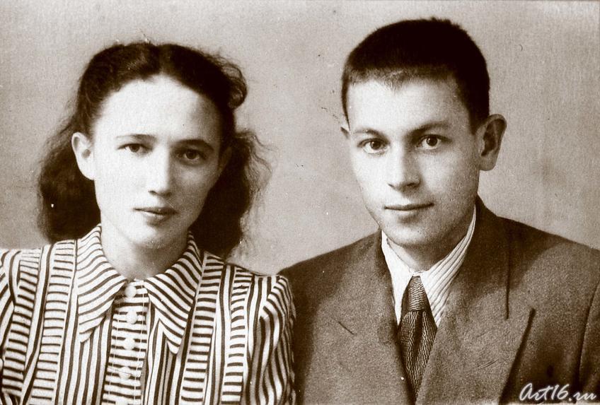 Молодожены: Гариф Ахунов и Шаида Максудова (Ахунова)::Гариф Ахунов (1925-2000)