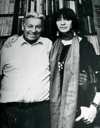 Гариф Ахунов с дочерью Наилей